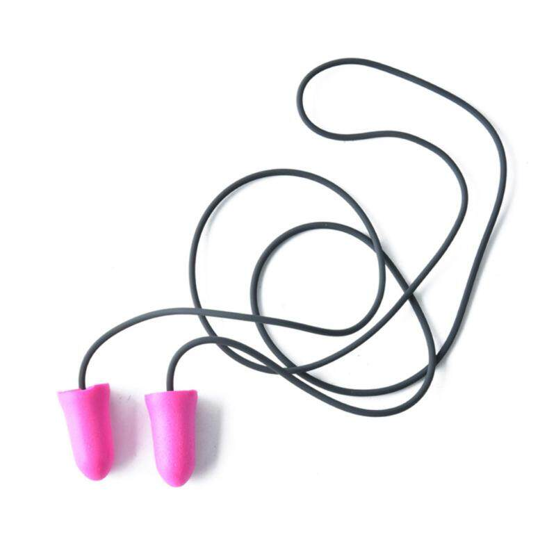 Soft Classic Foam Ear Plugs Travel Sleep Noise Reduction Rose Color Earplugs Rose