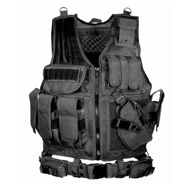 Yakeda Tactical Vest Army Fans Cs Field Operations Outdoor Equipment Supplies Ultra-Light Breathable Tactical Vest Belt By Taobao Collection.