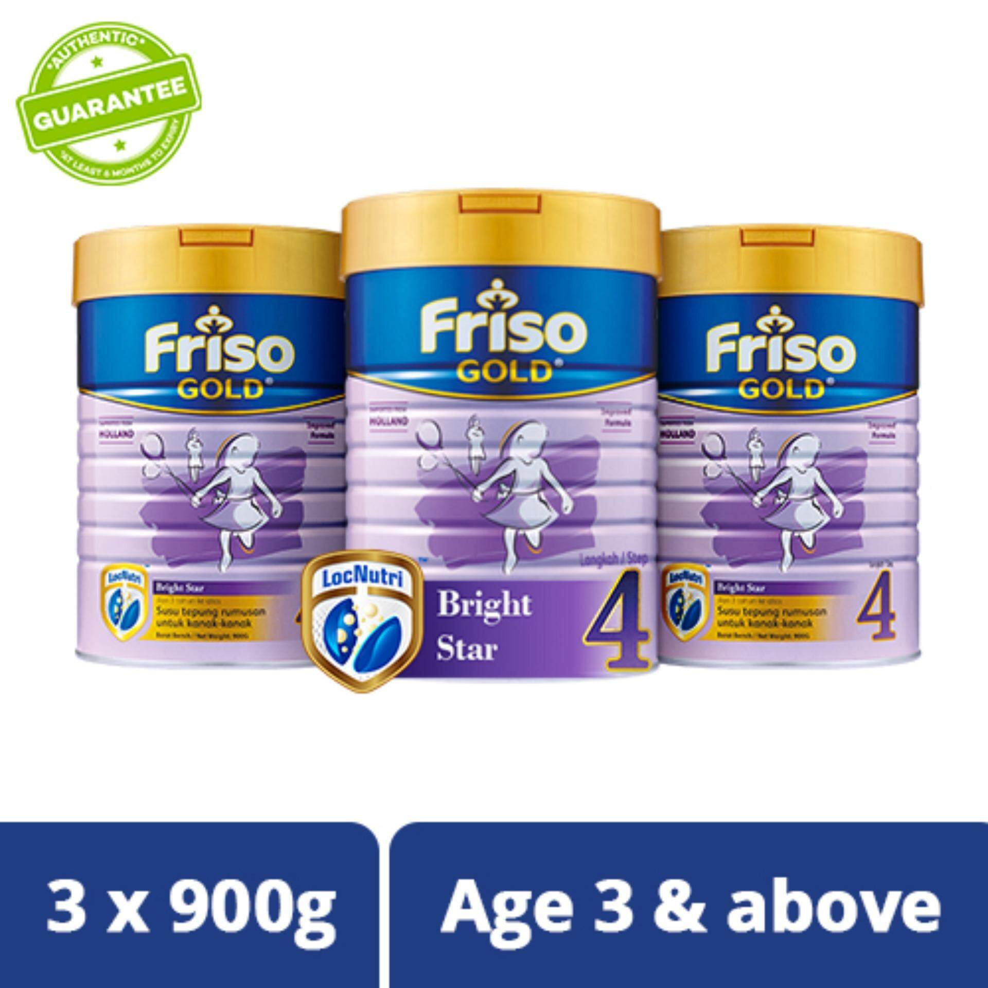 Friso Gold Step 4 900g Triple Pack By Lazada Retail Friso Gold.