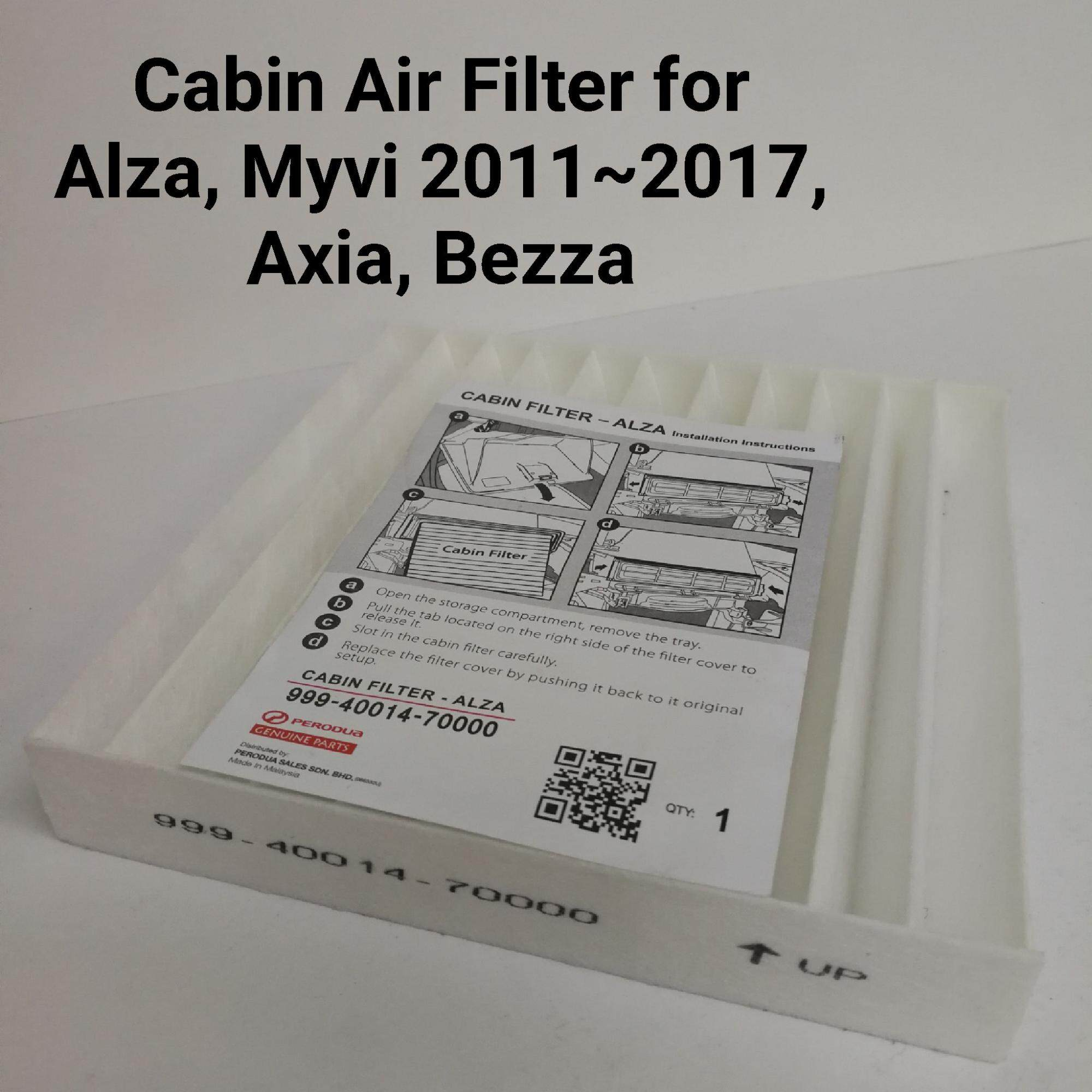 Perodua Cabin Air Filter For Alza, Myvi 2011 ~2017, Bezza, Axia By Triple Star.