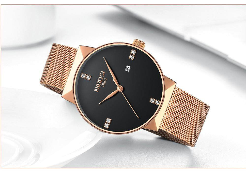NIBOSI 2018 New Fashion Simple Watch Slim Mesh Band Mens Dress Watches Top Brand Luxury Male Relogio Masculino Quartz Wristwatch (13)