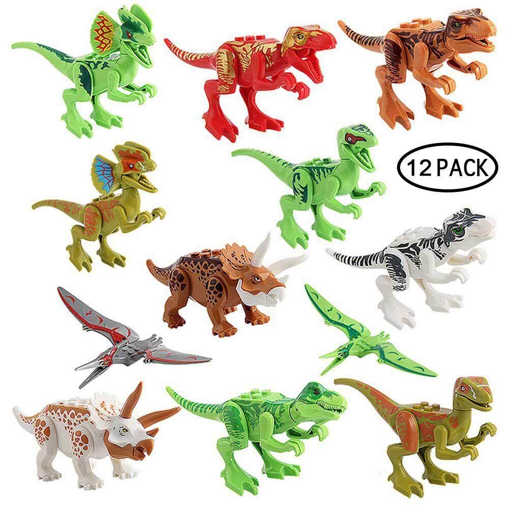 Ltplaza 12pcs Dinosaur Figures Toys, Dinosaurs Toys, Dinosaurs, Dinosaur Toy Set Dinosaur Toy Building By Ltplaza.