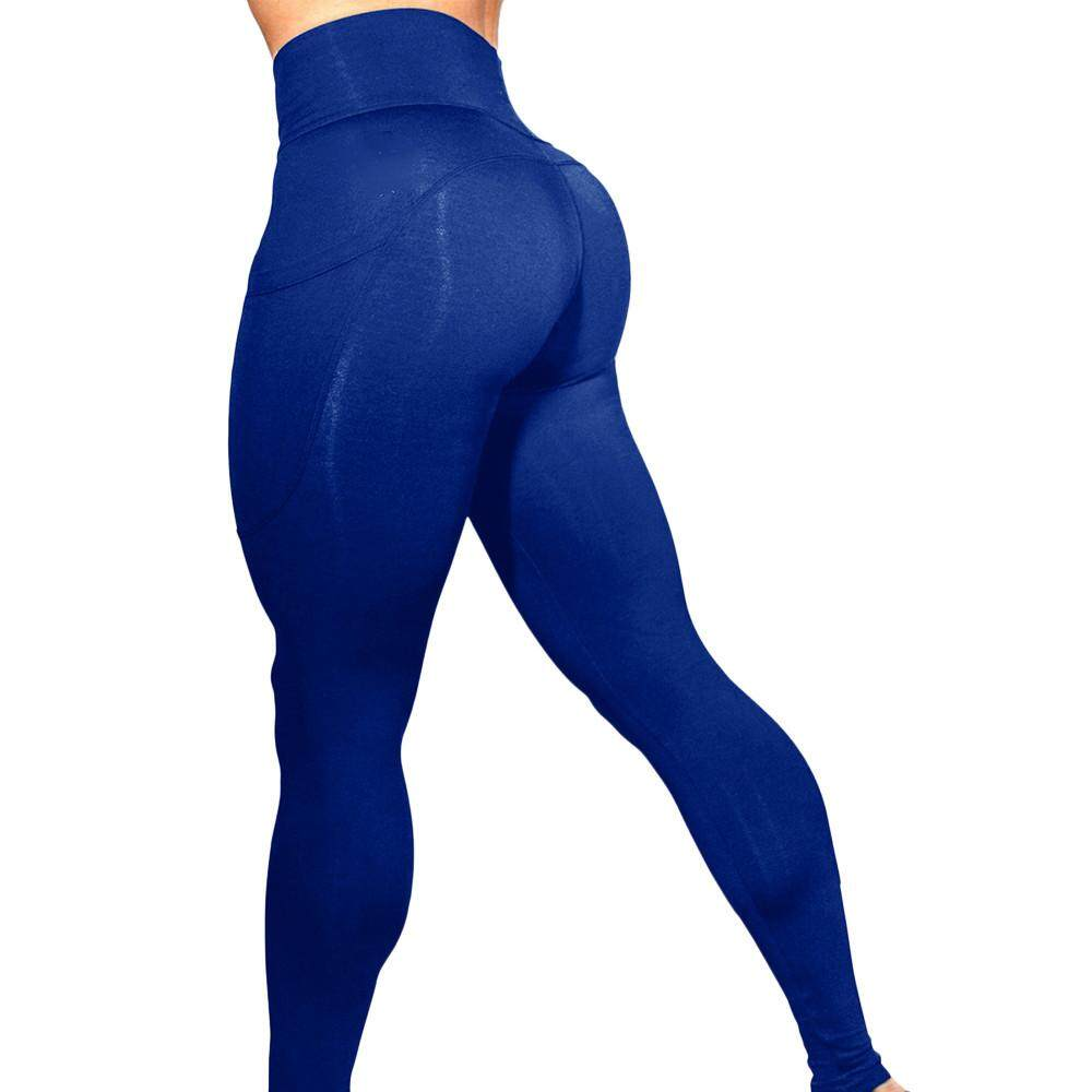 b95ac2fc870c83 Petenies Women's Solid Workout Leggings Fitness Sports Gym Running Yoga  Athletic Pants