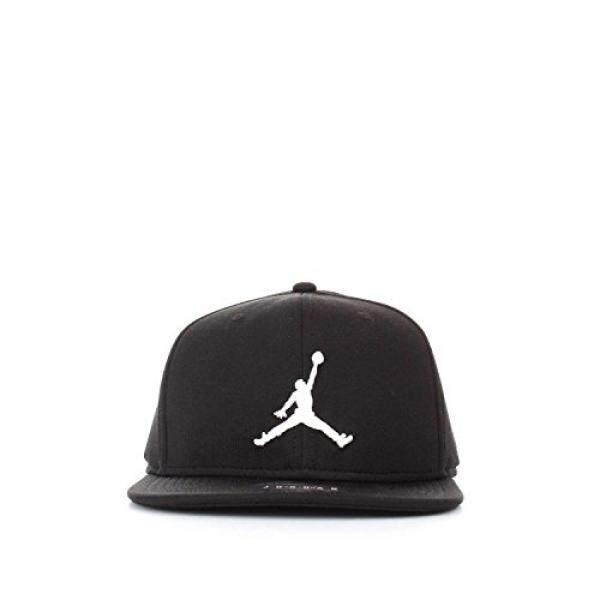buy popular eda9d 5d1b1 Nike Mens Jordan Jumpman Snapback Hat Black White 861452-013
