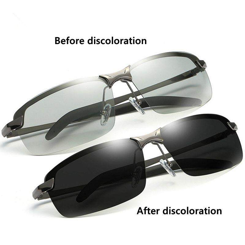 Natural Material Hd Mens Polarized Photochromic Transition Lens Sunglasses Lens Zxy9584 By Jingtingcom.