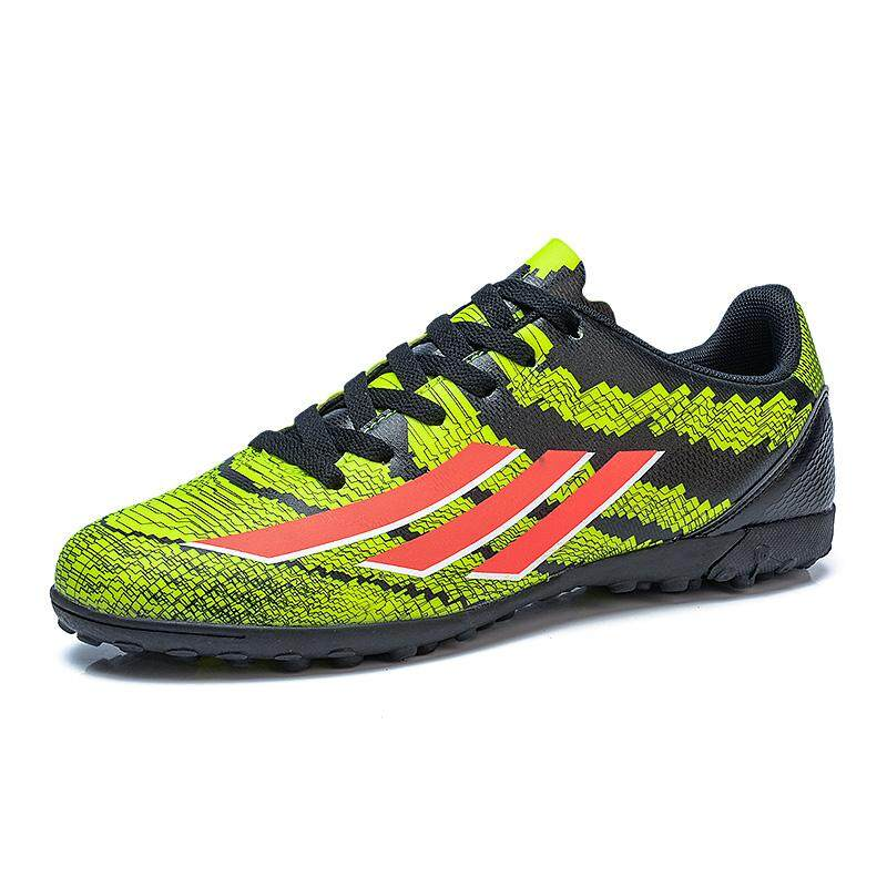 175ba85ff5 Malaysia. Men Soccer Shoes Football Boots Waterproof Soccer Cleats Boot  Shoes Sports Shoes Outdoor Indoor Soccer Training