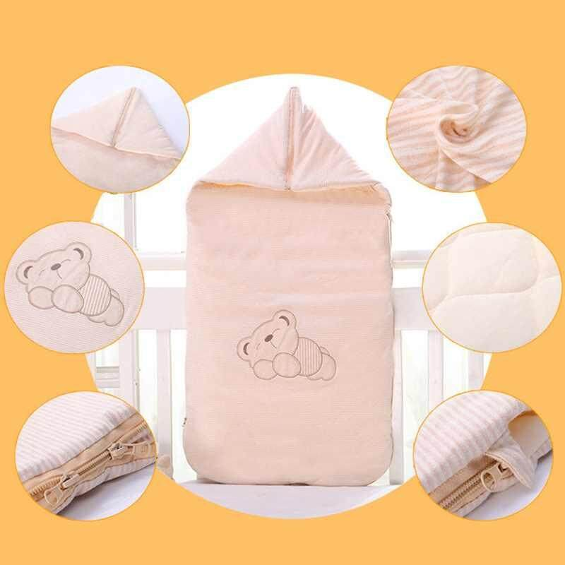 Lagobuy Cotton Envelopes Sleeping Bag Baby Bedding Accessories For Newborn Baby By Lagobuy.