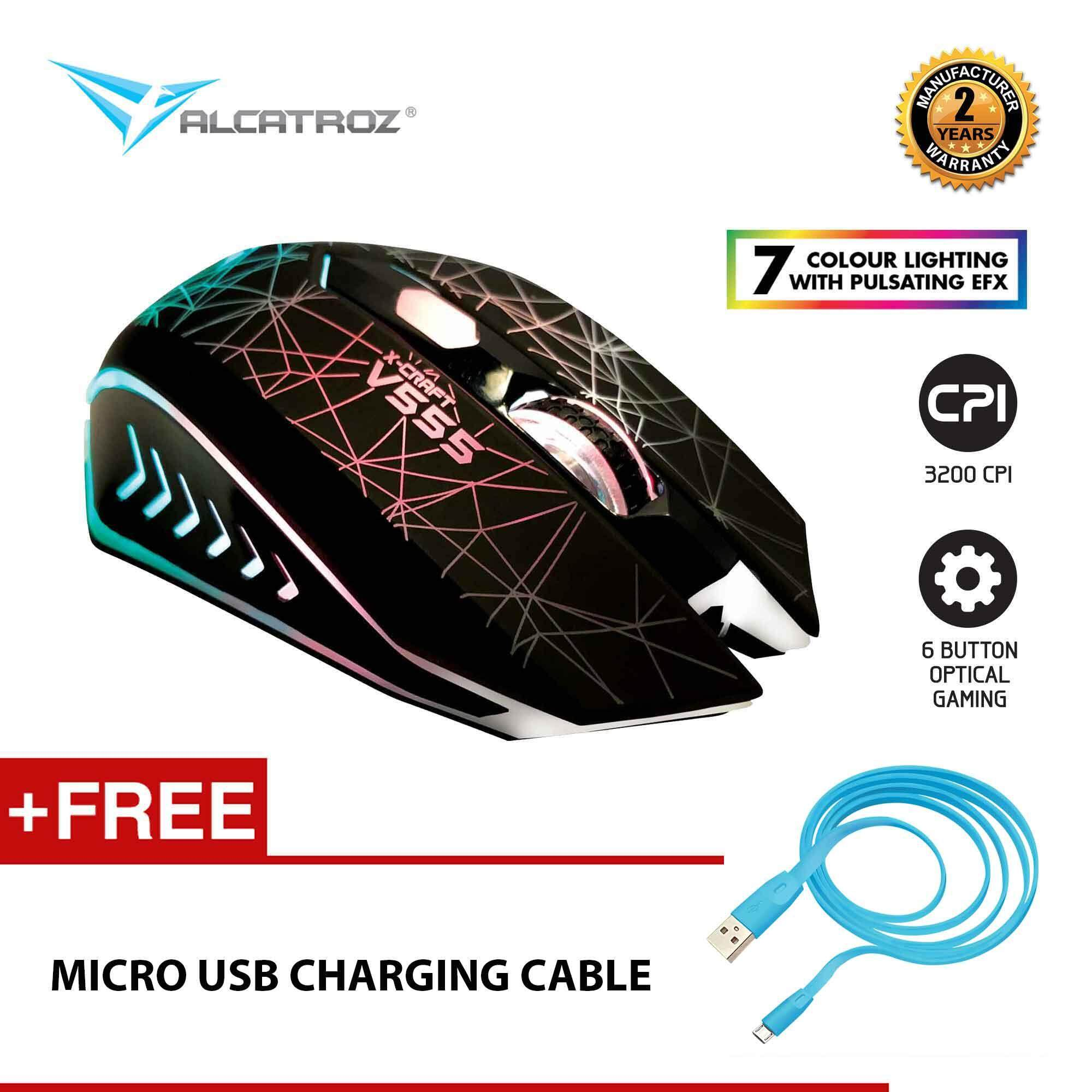 Alcatroz Computer Accessories Mice Price In Malaysia Best Mouse Lithium L2 Lazada