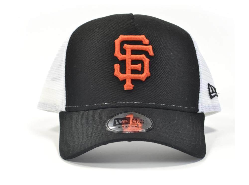 aa0ec8c54ea New Era San Fran Giants MLB Team Essentials Trucker Snapback Cap
