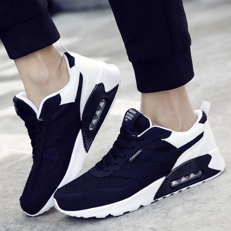 58c6a20468453 men shoes tenis feminino casual shoes for men air mesh lace-up mixed colors  men sport shoes