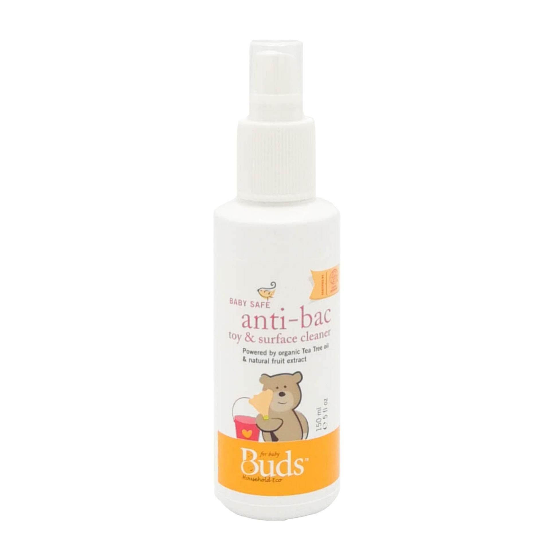 Buds Organics Buy At Best Price In Malaysia Www Mozzie Clear Spray 100ml Household Eco Baby Safe Anti Bac Toy Surface Cleanser 150ml