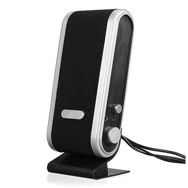 Free Shipping NEW 120W USB Power Desktop Computer Notebook Audio Speaker 3.5mm Earphone Jack Malaysia