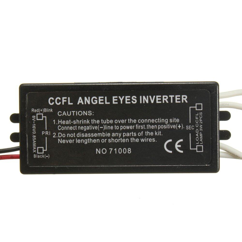 【 Free Shipping + Super Deal + Limited Offer】 2Pcs Spare Ballast Inverter  CCFL Angel Eyes Light Halo Ring For BMW E46 E53 X3