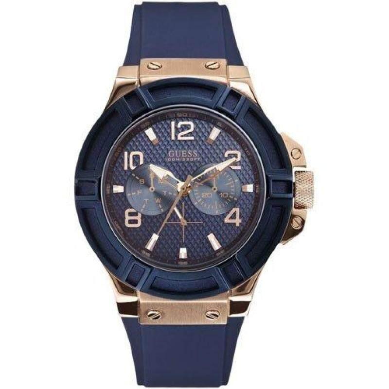 Guess MG089 Men Rigor Blue Strap Watch Malaysia
