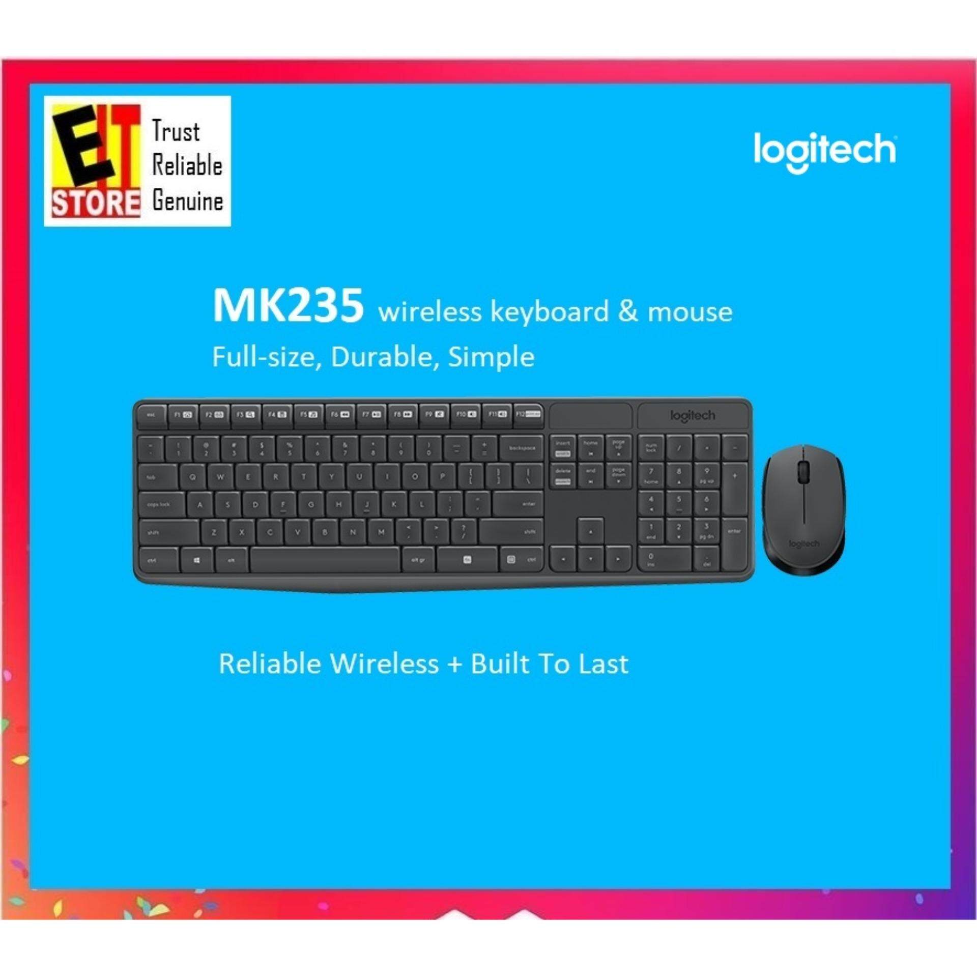Logitech Mk235 Wireless Keyboard And Mouse By Eit Store.