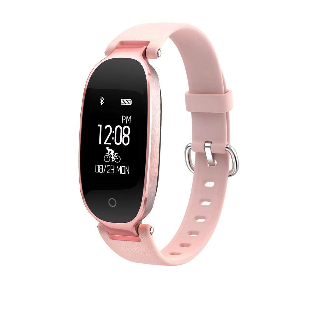 Lady Women Calorie Fitness Tracker Smart Watch Waterproof Wrist Band Bracelet S3 Malaysia