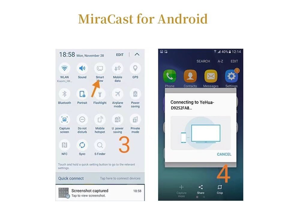 Original Anycast M9 Plus HDMI WIFI Display iPhone/iPad Google Chrome,Google  Home Android Screen Mirroring Cast Screen AirPlay DLNA MiracastrPlay DLNA