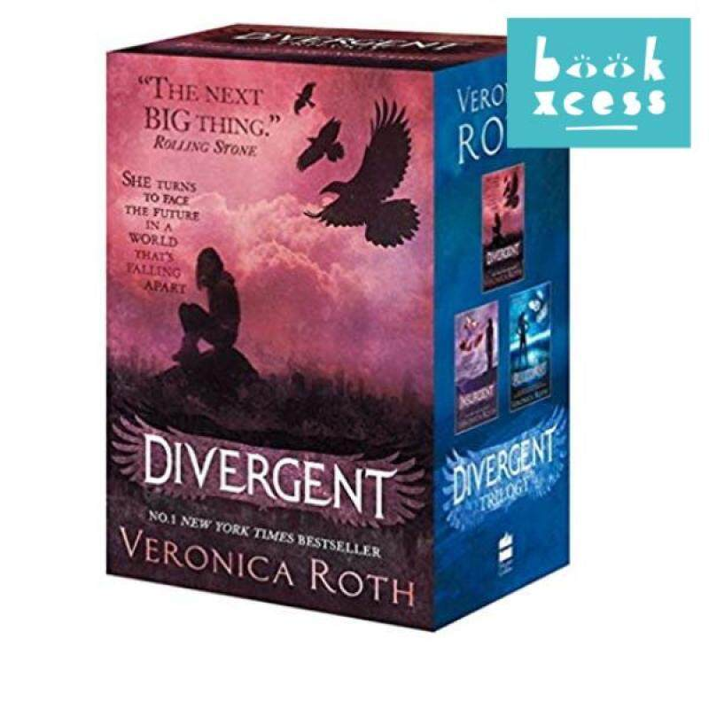 The Divergent Series Boxed Set (Books 1-3) Malaysia