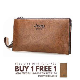 Jeep Buluo A0165 Multi-Purpose 4 Card Holder Zip Wallets / Clutch Bag