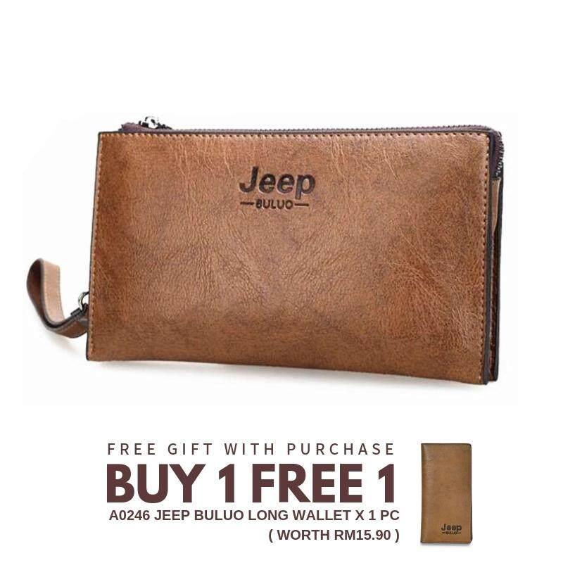 Jeep Buluo A0165 Multi-Purpose 4 Card Holder Zip Wallets   Clutch Bag 6669a47b66