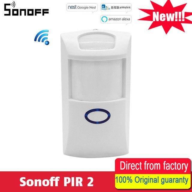 Yuchen Nieuwe Sonoff PIR2 Draadloze Dual Infrarood detector Motion Sensor smart Home Smart Alarmsysteem voor Alexa Google Thuis