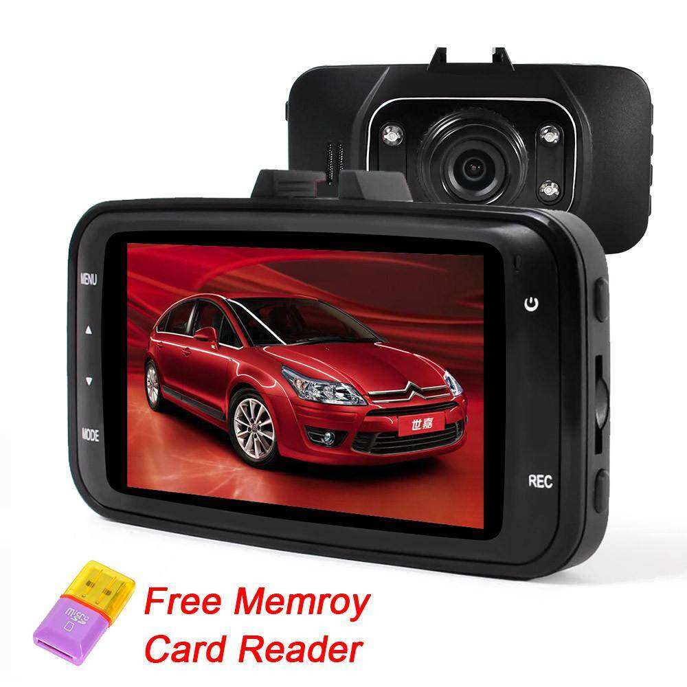 GS8000L Car DVR Camera Video Recorder 1920x1080P 2.7 inch Full HD 1080P 120 Degree G-
