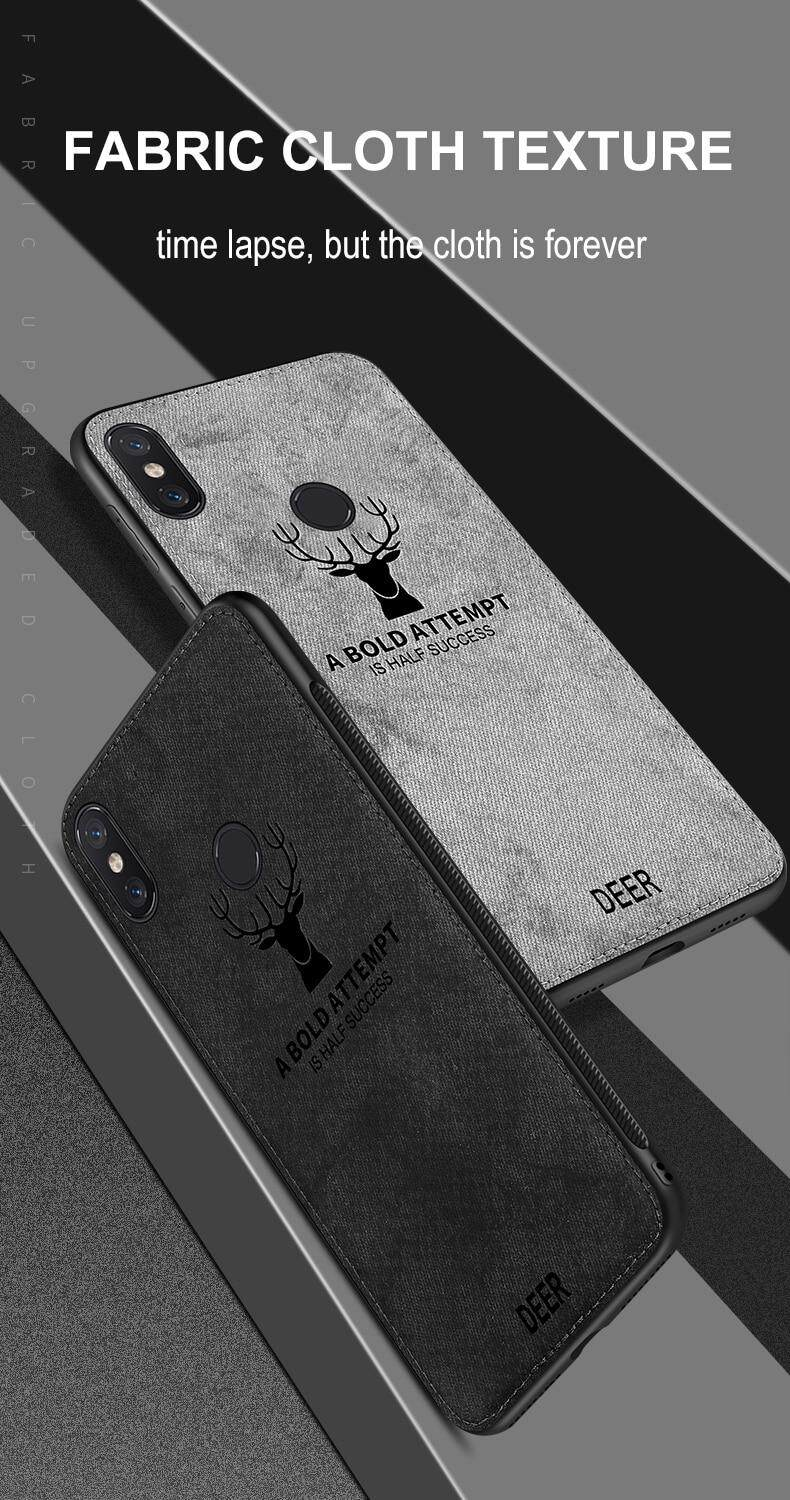 f4ad7b8a697 Product details of Cloth Deer Soft Phone Case For Xiaomi Redmi Note 5 Pro  Pattern Silicon TPU Cloth Texture Back Cover for Xiaomi Redmi Note 5  5Pro