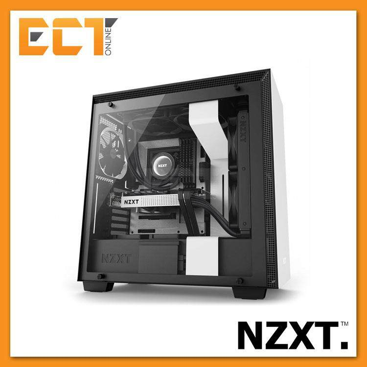 NZXT H700 Full Tempered Glass ATX Gaming Casing Chassis (Matte Black/Matte White ) Malaysia