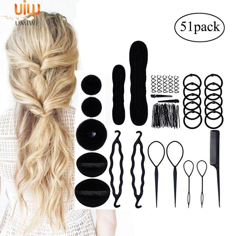 Umiwe Fashion Hair Design Styling Tools Accessories Diy Hair Accessories Hair Modelling Tool Kit Hairdress Kit Set Magic Simple Fast Spiral Hair Braid By Umiwe.