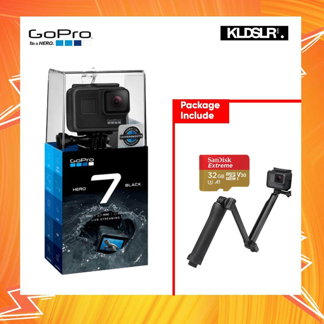 Gopro Camera For The Best Price In Malaysia Hero5 Free Acc Shorty Hero 7 Black Hero7 4k Video Action