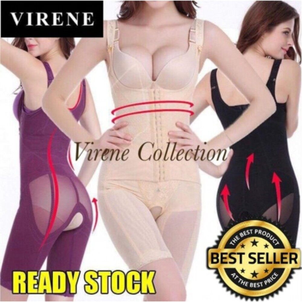 Shapewear Nightwear Lingerie For The Best Price In Malaysia Bambo Natural Slimming Suit Korset Pelangsing Virene Borongready Stock Local Seller Premium Quality Fast Deliveryultraslim
