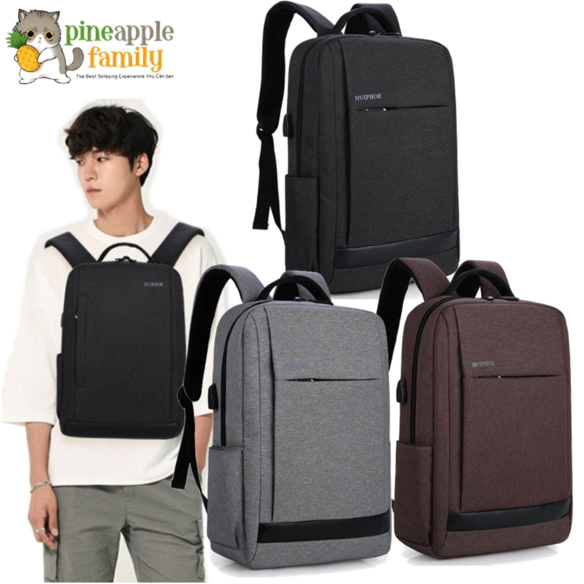 Eneko Business Laptop Backpack With Usb Charging Port By Pineapple Family.