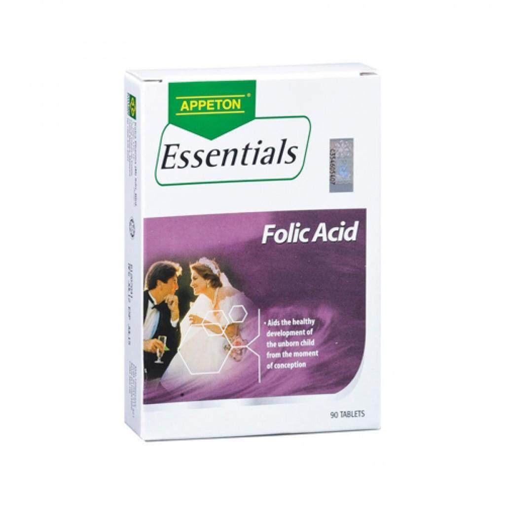 Appeton Products For The Best Prices In Malaysia Weight Gain Essential Folic Acid 90s X 1unit Exp06 2021 Free