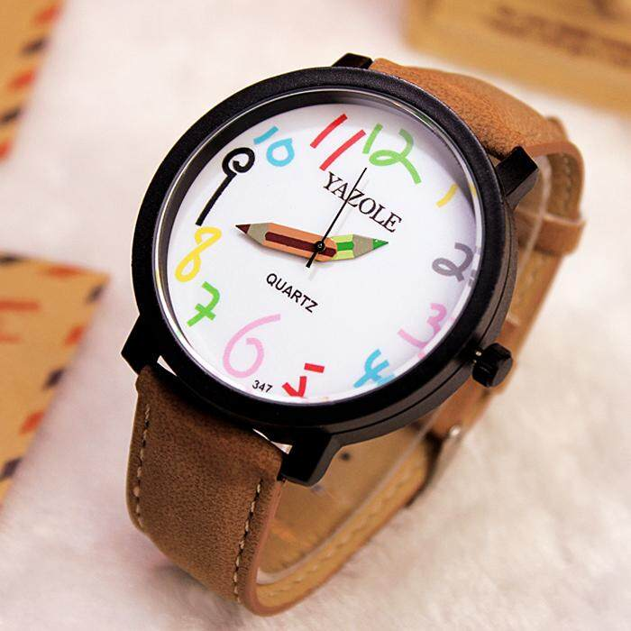 YAZOLE Wrist Watch Women Watches Girls Famous Wtatch Brand Female Clock Quartz Watch Ladies Quartz-watch Montre Femme Relogio Feminino Malaysia