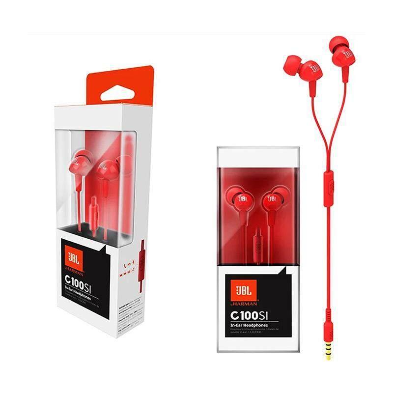 d39843c79e6 [100% Original JBL Earphone] JBL C100SI In-Ear Headphones With Mic [