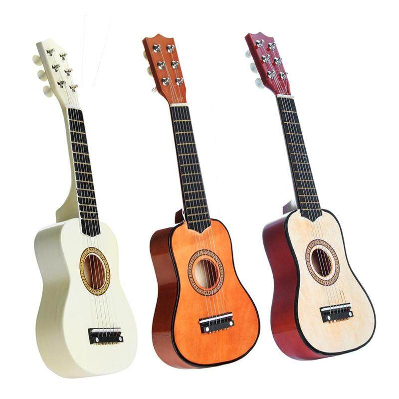 6 String 21 Inch Mini Acoustic Guitar Basswood Musical Instruments Toys Gifts for Kids Children Malaysia