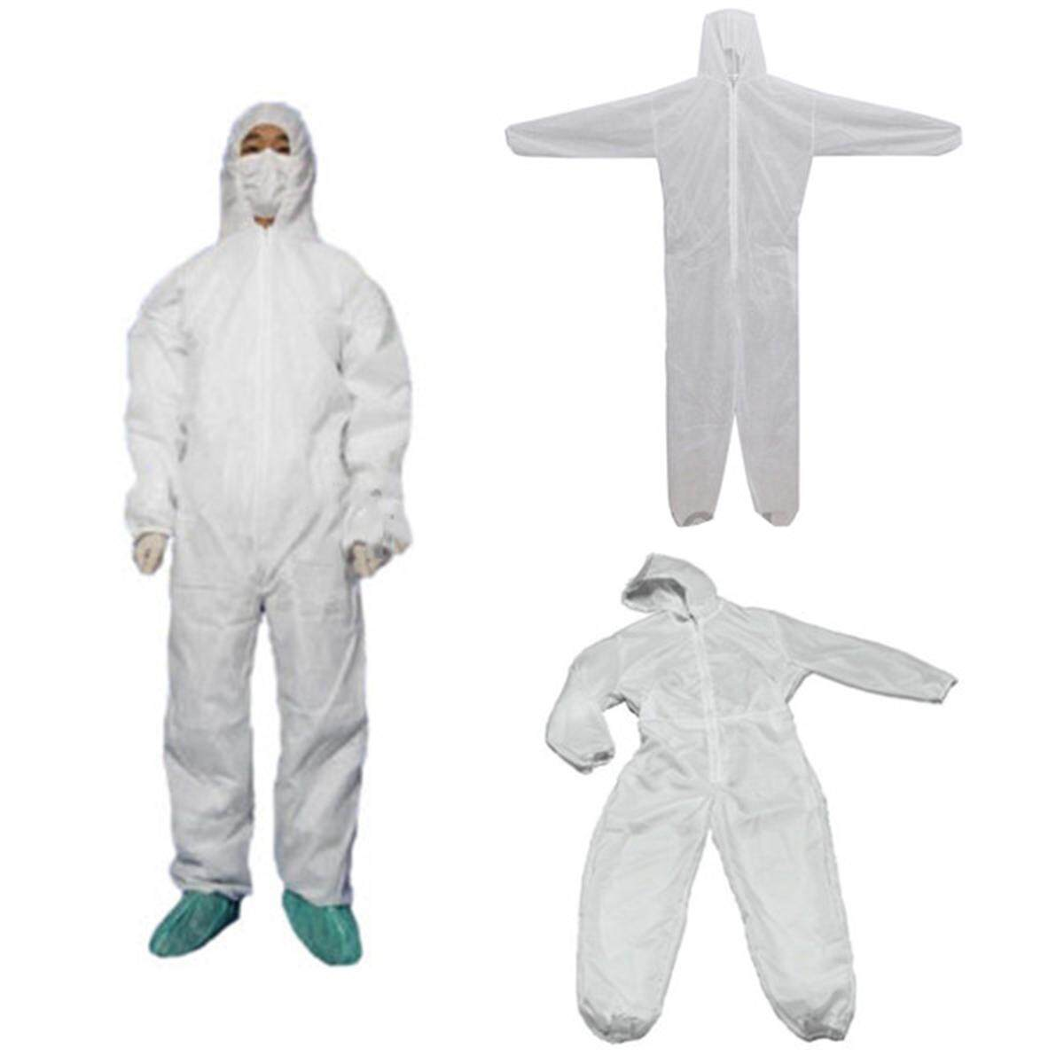XXXL Size Disposable Coverall Dust Spray Suit Siamese Non-woven Dust-proof Clothing