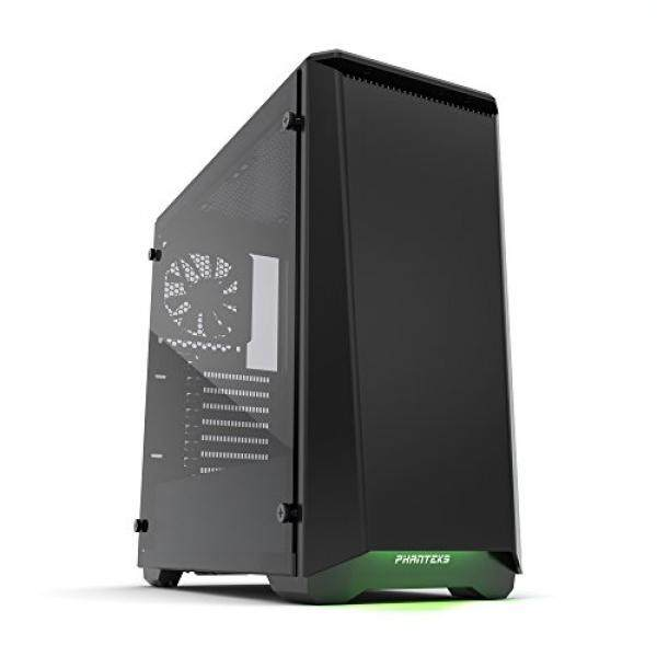 [From.USA]Phanteks PH-EC416PTG_BK Eclipse P400 Steel ATX Mid Tower Case Satin Black, Tempered Glass Edition Cases B01N9JPSEU Malaysia