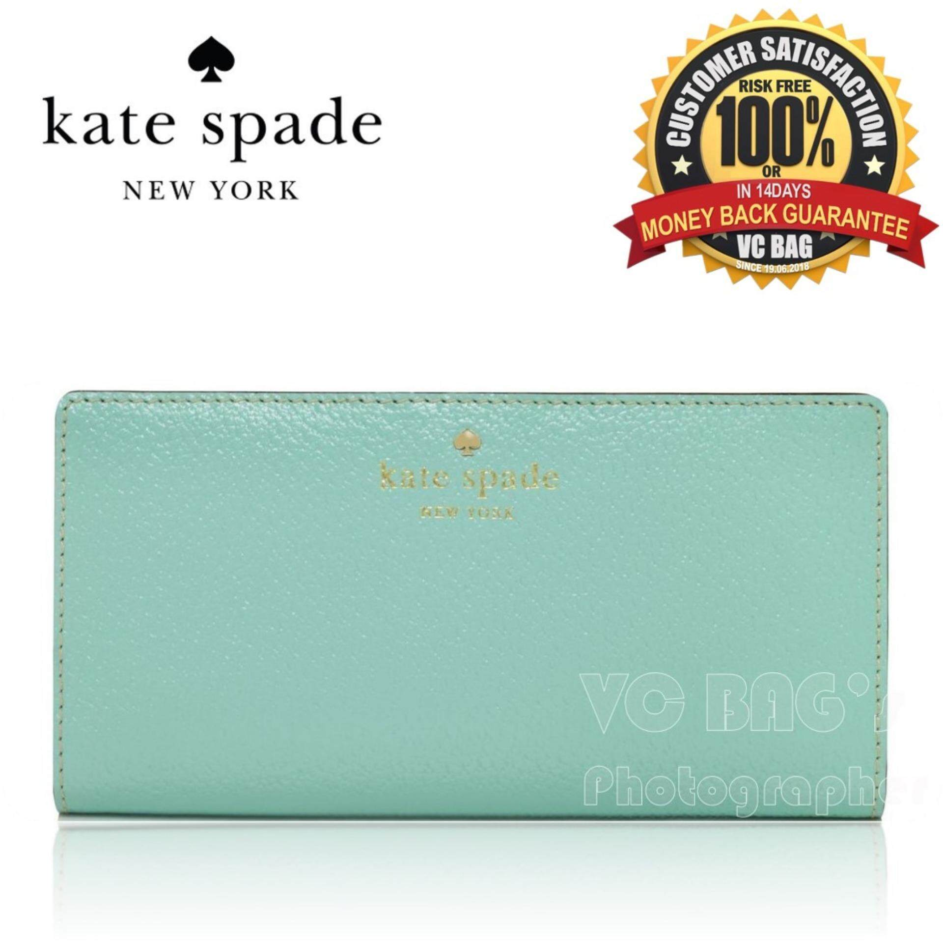 Kate Spade Grand Street Stacy Wallet Robins Egg