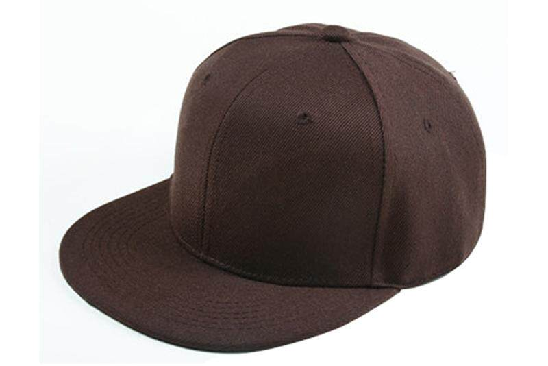 0e6f24ed0b7 Plain Re-entry Hip-Hop Baseball Cap Boy Adjustable Hat Coffee