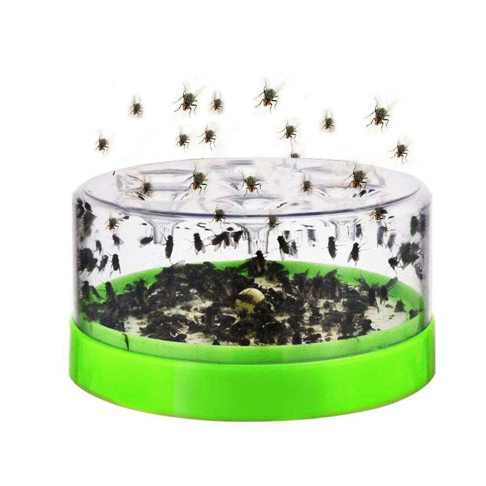 OEM Fly Trap Device,Electric Effective Fly Trap Device Pest Repeller With Trapping Food Rotating Plate Home Mosquito Repellent