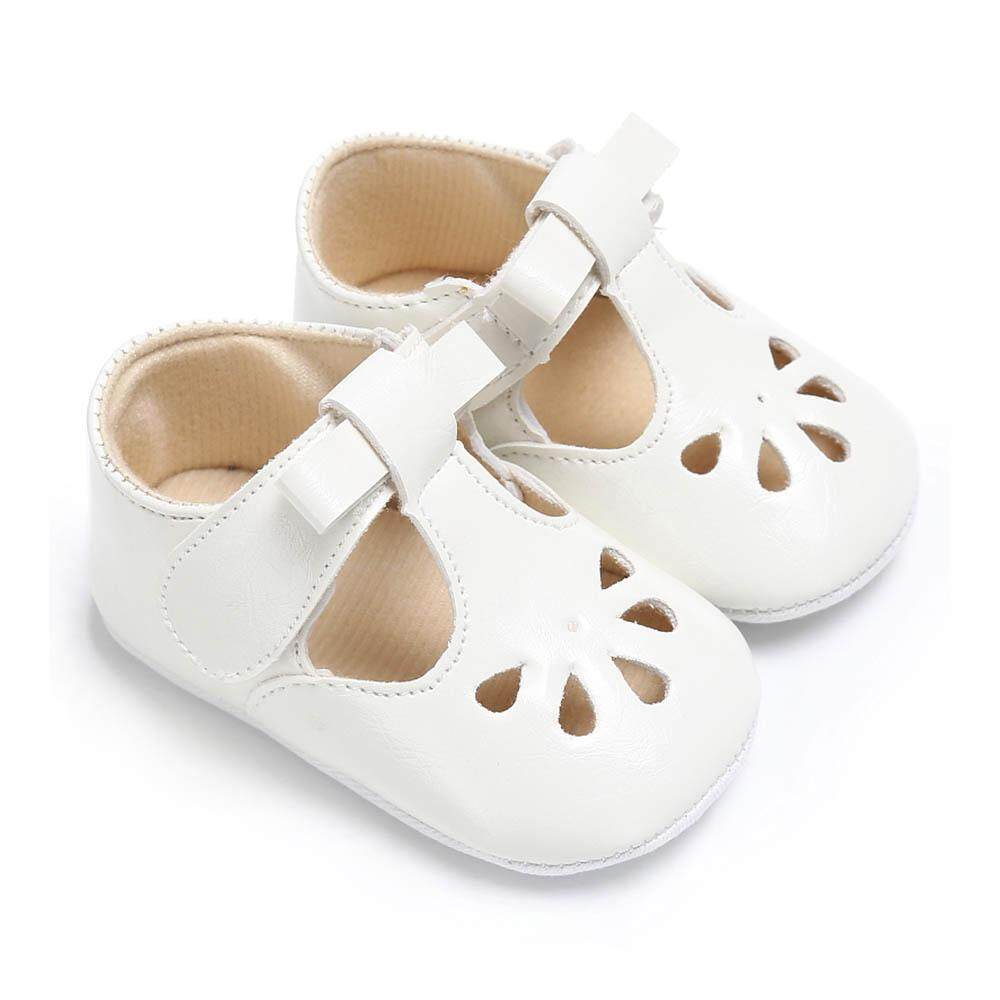 bc5b02bd0 Easybuy Newborn Toddler Infant Baby Girls Soft Sole Bowknot Mary Jane  Princess Shoes
