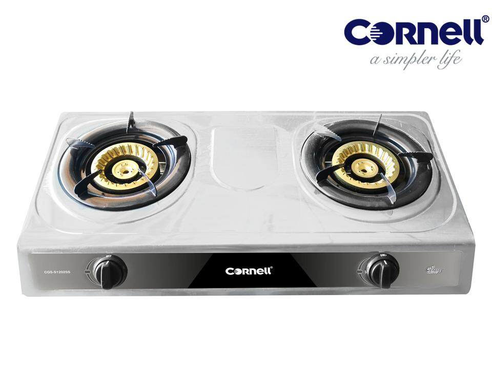 Cornell Cgs S1202ss Stainless Steel Panel Gas Stove