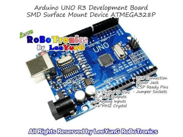 Arduino UNO R3 Compatible ATMEL DIP ATMEGA328P Development Board + USB Cable