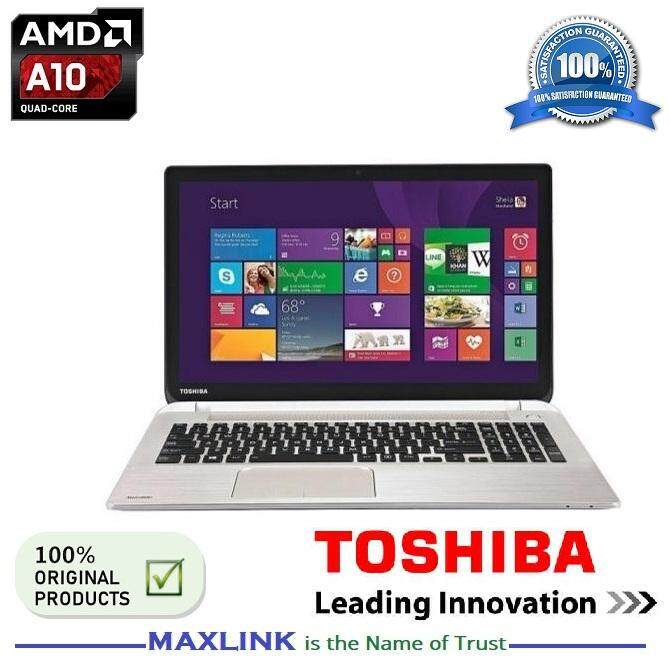 TOSHIBA SATELLITE S50DT-B AMD A10-7300 Quad Core 8GB / HDD 1TB Touch Screen Ultra Book {Ex Display Item} Malaysia