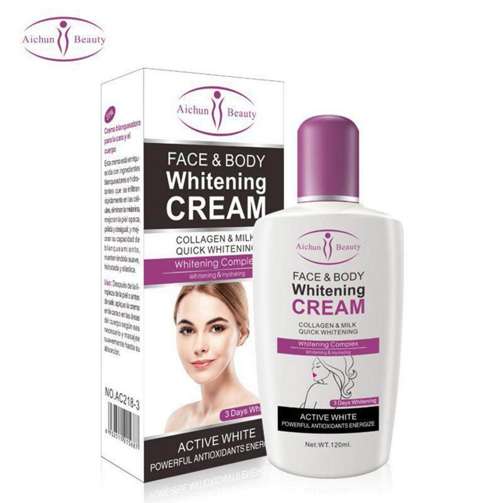 Aichun Beauty Buy At Best Price In Malaysia Www Hot Gel Whitening Cream Collagen Milk For Face Body 120ml Ac218 3
