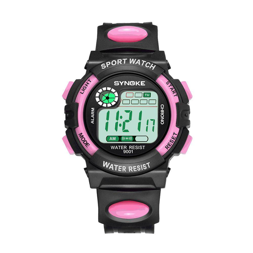 Tuckerstore-SYNOKE Multi-Function 30M Waterproof Watch LED Digital Double Action Watch Malaysia