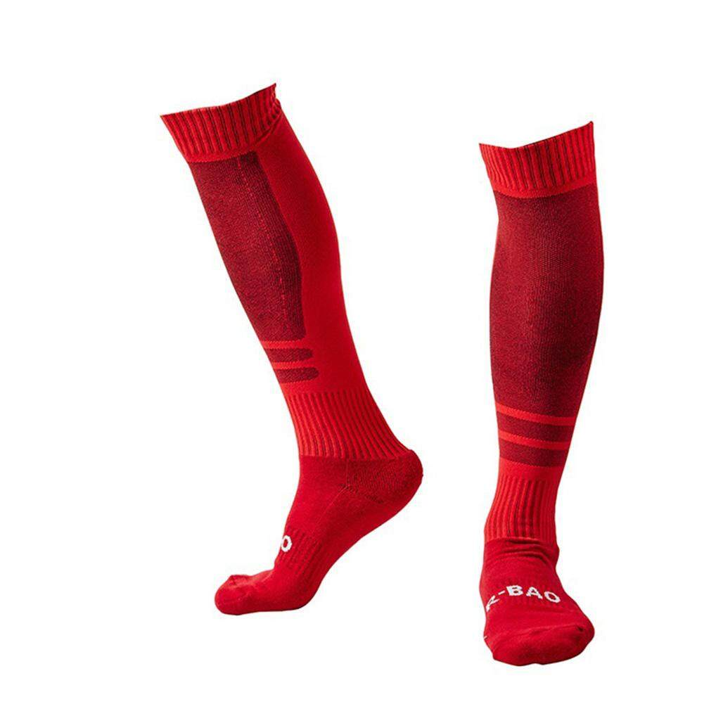 d6556a70443 Men Thickening Stockings Knee High Sport Compression Soccer Football Socks