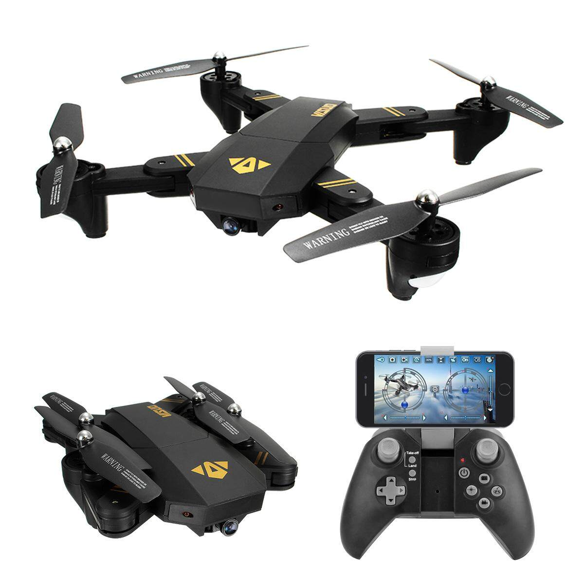 Remote Control Toys For The Best Prices In Malaysia Wiring Lampu Rumah Visuo Xs809hw Wifi Fpv With Wide Angle Hd Camera High Hold Mode Foldable Arm Rc Drone