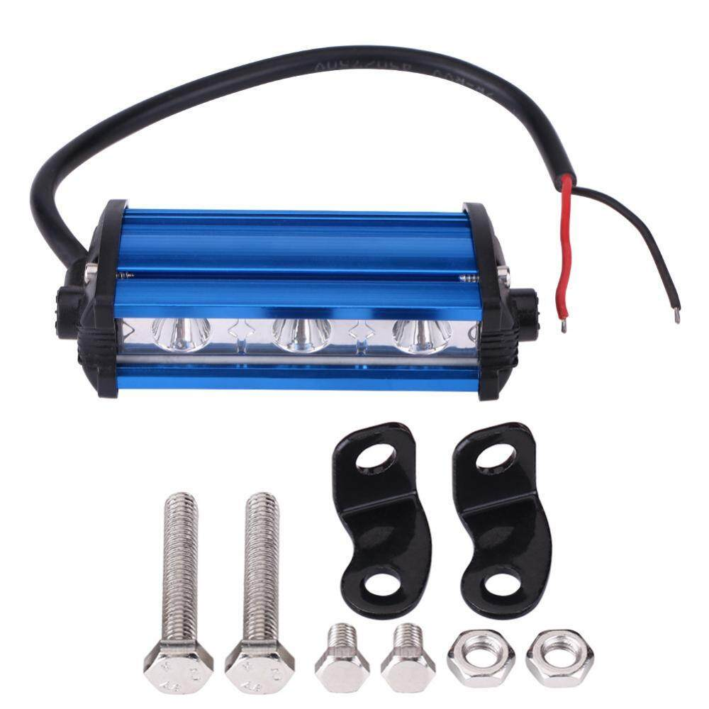 9W 4 Inch 3 LED Spot Beam Work DRL Light Bar Lamp for Car Truck Off Road ATV Motorcycle